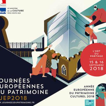 Journées du patrimoine 2018